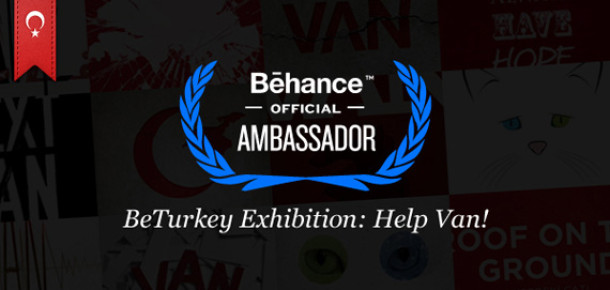 Behance Türkiye'den Van'a Destek Sergisi