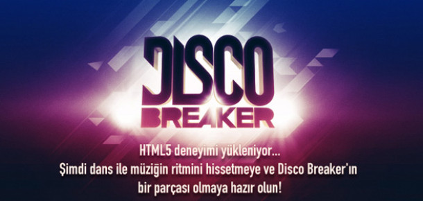Bedük'ün İnteraktif Video Klibi: Discobreaker