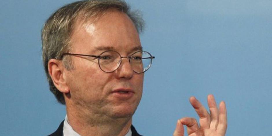 Eric Schmidt: Teknoloji ve İnternet Dünya'yı Değiştirecek