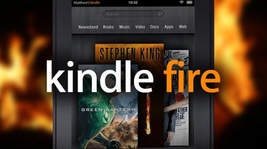 Kindle Fire, Haftada 1 Milyondan Fazla Satılıyor