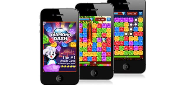 Diamond Dash Keyfi Mobile Taşınıyor