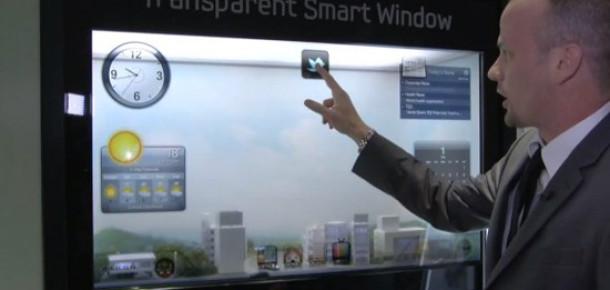Samsung Smart Window: Şeffaf Tablet Pencere