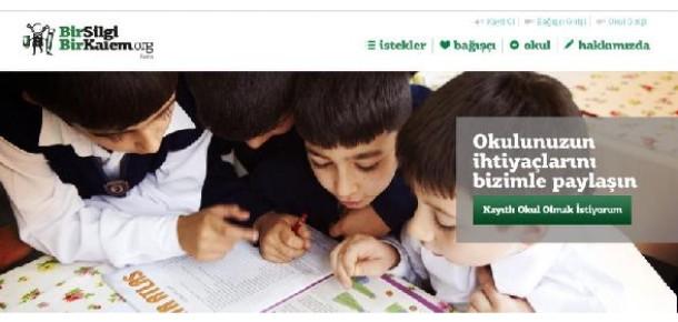 BirSilgiBirKalem.org, İhtiyaç Sahibi Okulları Bağışçılarla Buluşturuyor