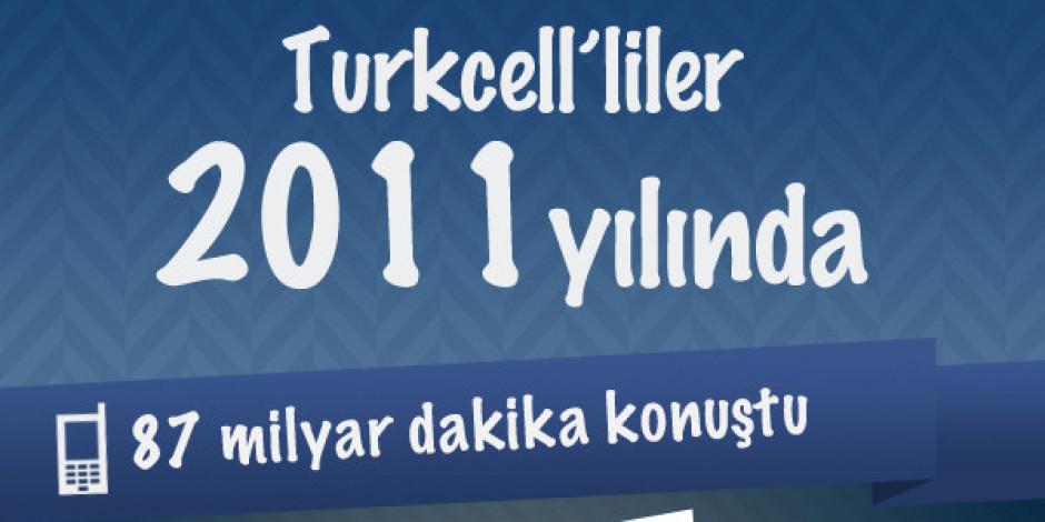 Turkcell'den 2011'in Mobil Bilançosu [Infografik]