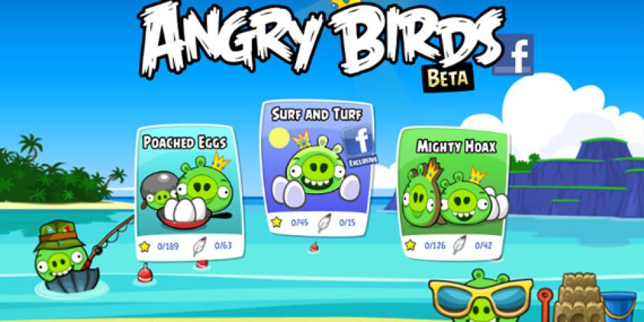 Angry Birds'ün Facebook Oyunu Yayınlandı