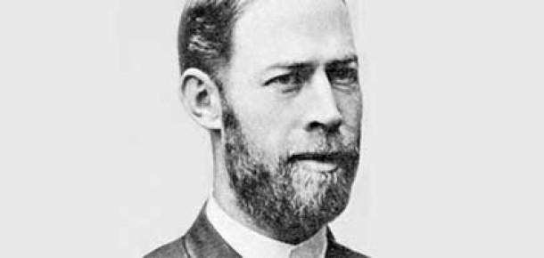 Google'dan Heinrich Rudolf Hertz İçin Doodle