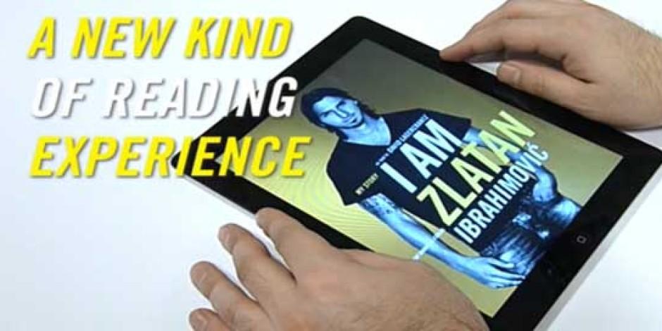 Zlatan Ibrahimovic'in Otobiyografisi iPad'de