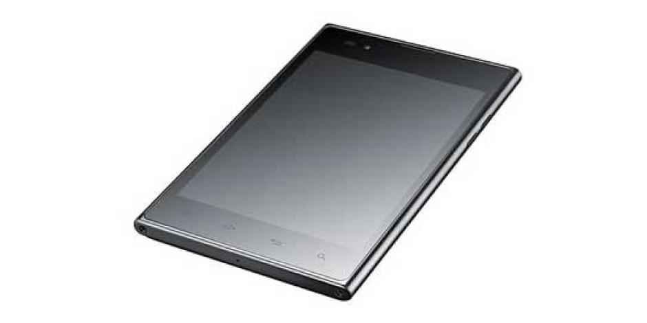 LG'den Samsung Note'a Rakip: LG Optimus VU
