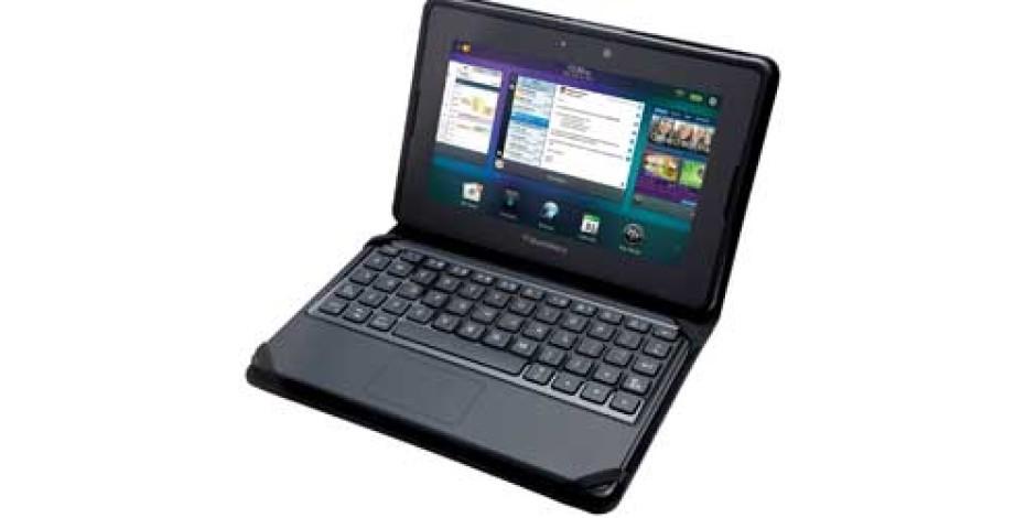 Blackberry'den Playbook için Mini Klavye