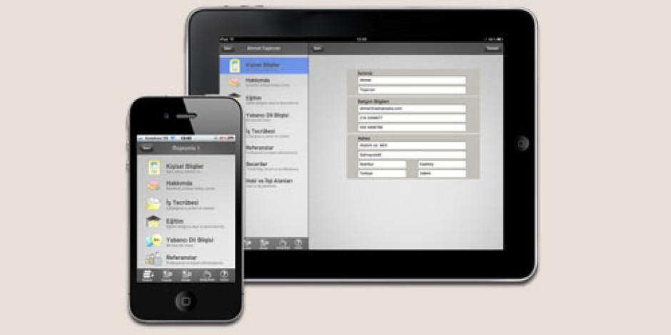 iOS İçin Pratik CV Hazırlama Uygulaması: CV Hazırla