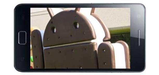 Samsung Galaxy S II'ye Ice Cream Sandwich Yarın Geliyor [Güncellendi]