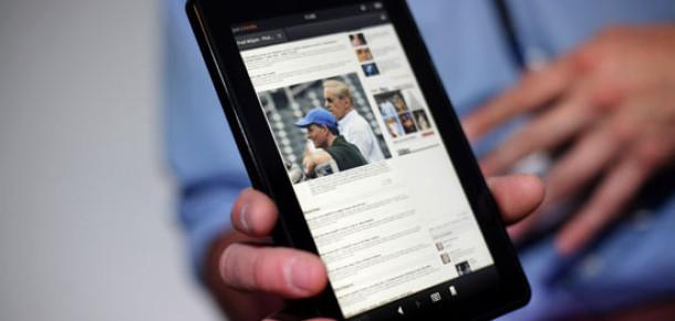 Amazon 2012'de Üç Yeni Tablet Piyasaya Sürecek