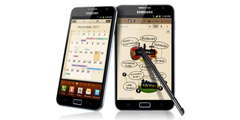 Galaxy Note Sahiplerine Müjde: Android 4.0 Geliyor