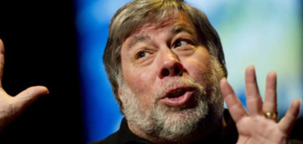 Steve Wozniak Yeni iPad Kuyruğunda