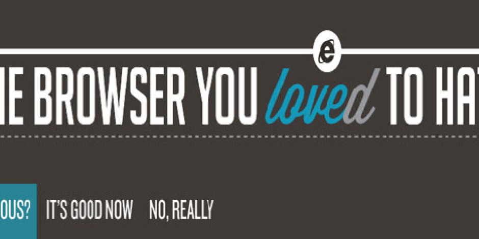 Nefret Etmekten Zevk Aldığınız Tarayıcı Internet Explorer