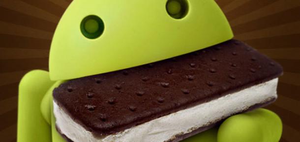 Android 4.0 Ice Cream Sandwich'in Kullanım Oranı Hızla Artıyor