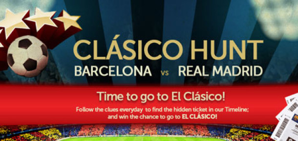THY'den El Clasico İçin Facebook Oyunu
