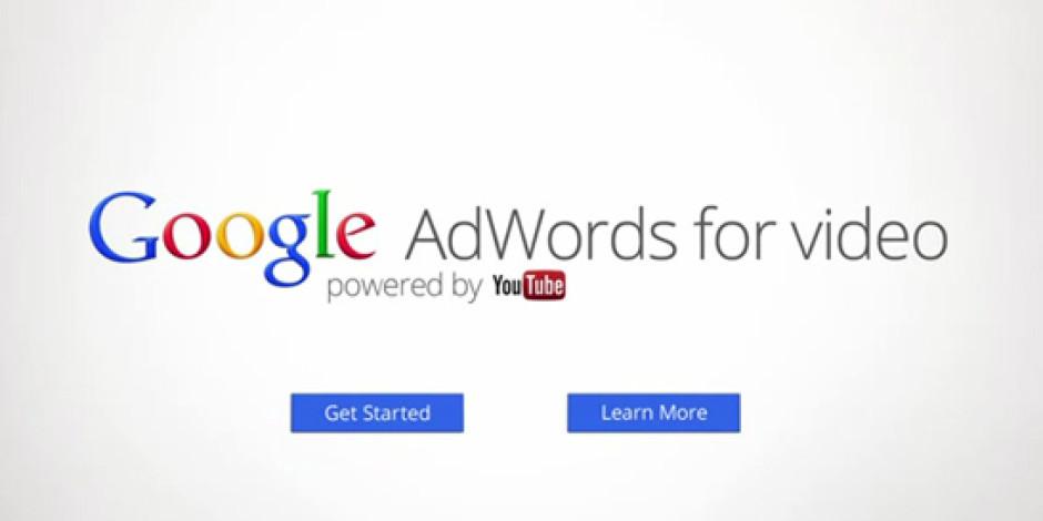 Youtube Videoları için Google AdWords Yayında