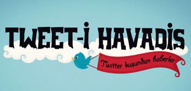 Türkiye'den Twitter Rakamları 'Tweet-i Havadis' İnfografiğinde