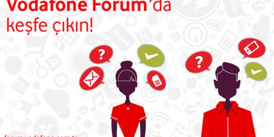 Vodafone'dan Yeni İletişim Platformu: Vodafone Forum