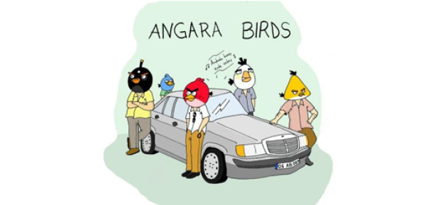 Angry Birds'ün Yeni Bölümü İstanbul'da mı Geçecek?