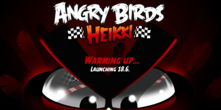 Yarış Temalı Angry Birds Geliyor