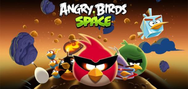 Tarihin En Hızlı Büyüyen Mobil Oyunu Angry Birds Space