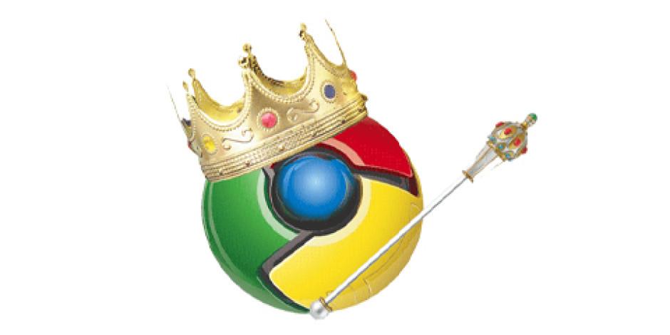 Chrome, En Sonunda Internet Explorer'ı Geride Bıraktı