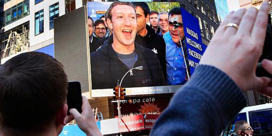 Facebook Borsada Eriyor