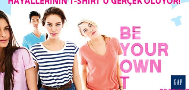 GAP Türkiye'den Facebook'ta Tişört Tasarım Yarışması