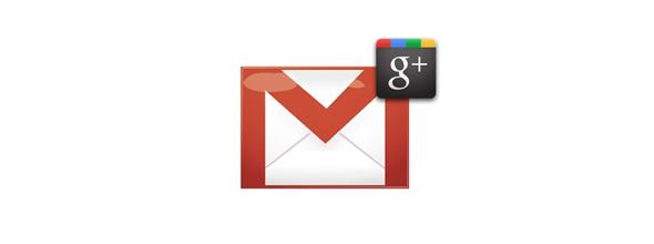 Gmail'e Yeni Google+ Özellikleri