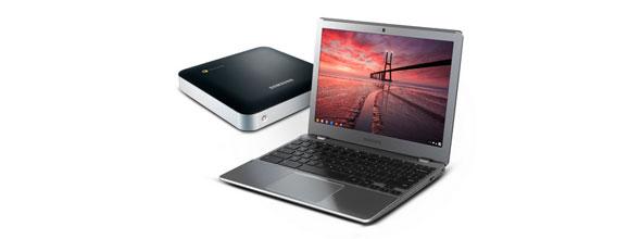 Google'dan Chrome OS'lu İki Yeni Bilgisayar