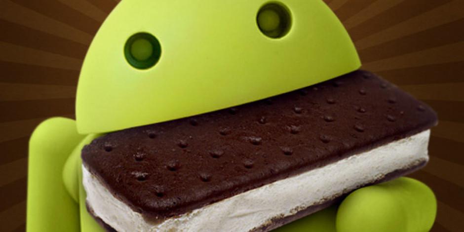 Android Kullanıcılarının %5'i Ice Cream Sandwich Sahibi