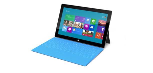 Microsoft Yeni Tablet Serisi Surface'i Tanıttı