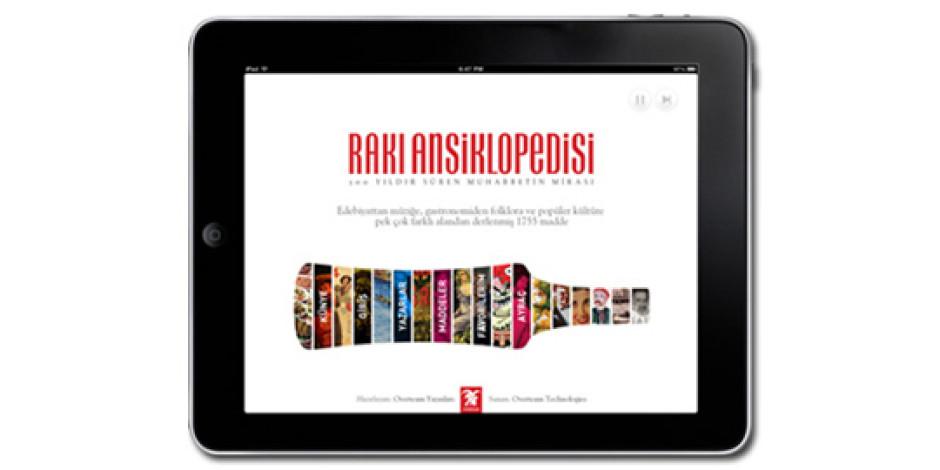 Ödüllü Rakı Ansiklopedisi'nin iPad Uygulaması Çıktı