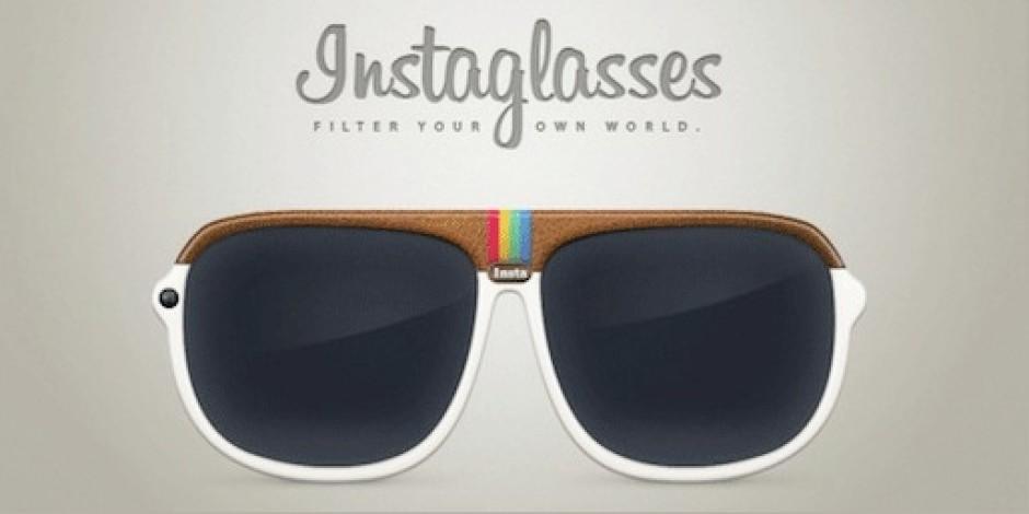 Instagram Fotoğrafları Çeken Güneş Gözlüğü: Instaglasses