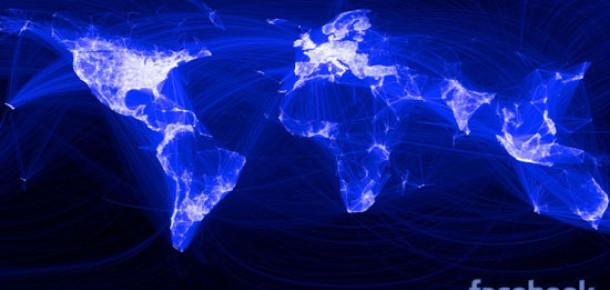 Facebook'tan Dünyanın En Sosyal Mekanları Haritası