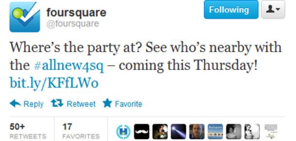 Foursquare'in Tasarımı Yenileniyor