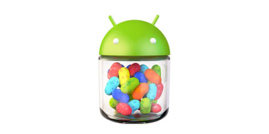 Jelly Bean Şimdiden Android'lerin %0.8'inde Kullanılıyor