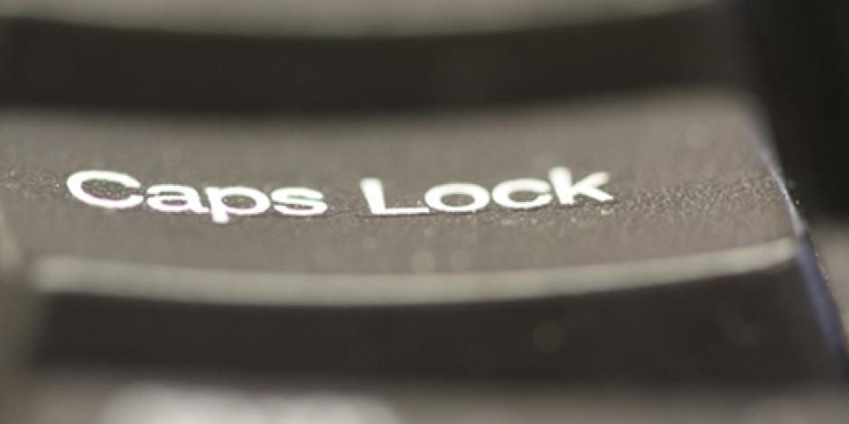 CAPS LOCK'un Hikayesi [İnfografik]