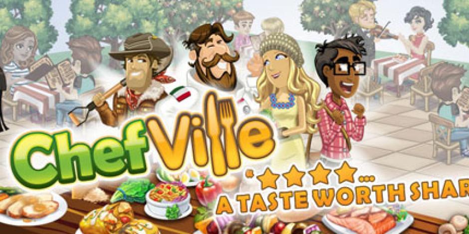 Zynga'nın Yeni Aşçılık Oyunu ChefVille