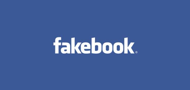 Facebook'ta Hesapların %10'a Yakını Sahte