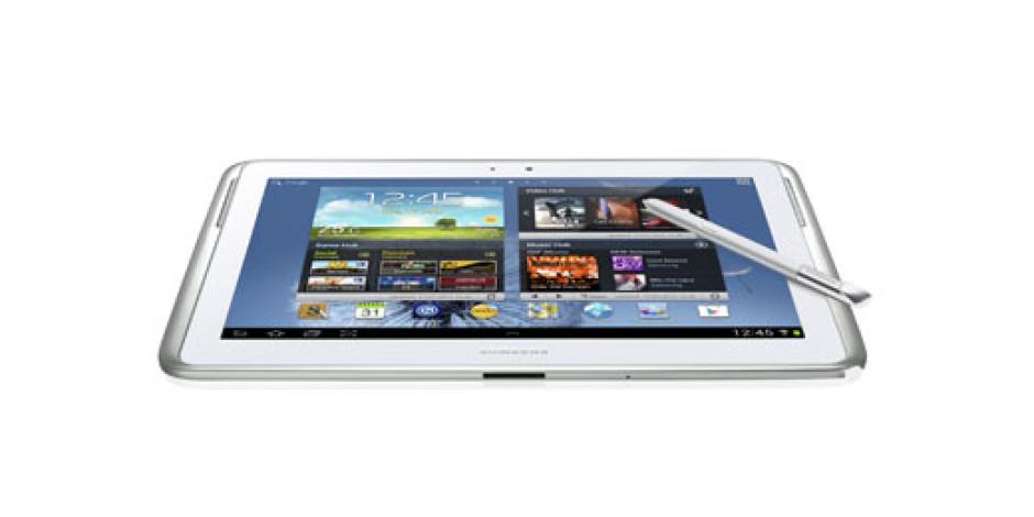 Samsung'un Yeni Tableti Galaxy Note 10.1 Tanıtıldı