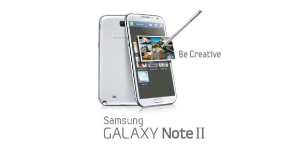 Samsung, Galaxy Note II'yi Tanıttı
