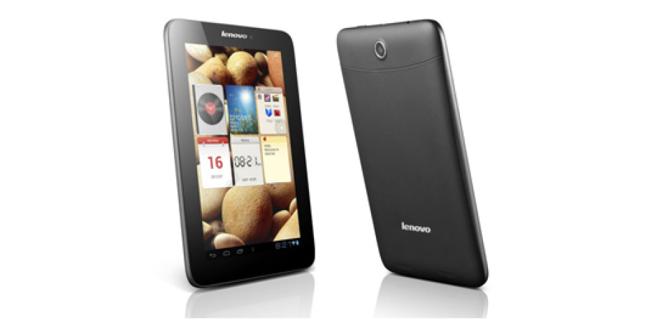 Lenovo'dan Üç Yeni Android'li Tablet