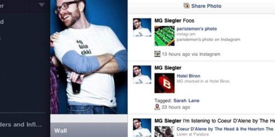 Facebook'un iPhone ve iPad Uygulamaları Güncellendi