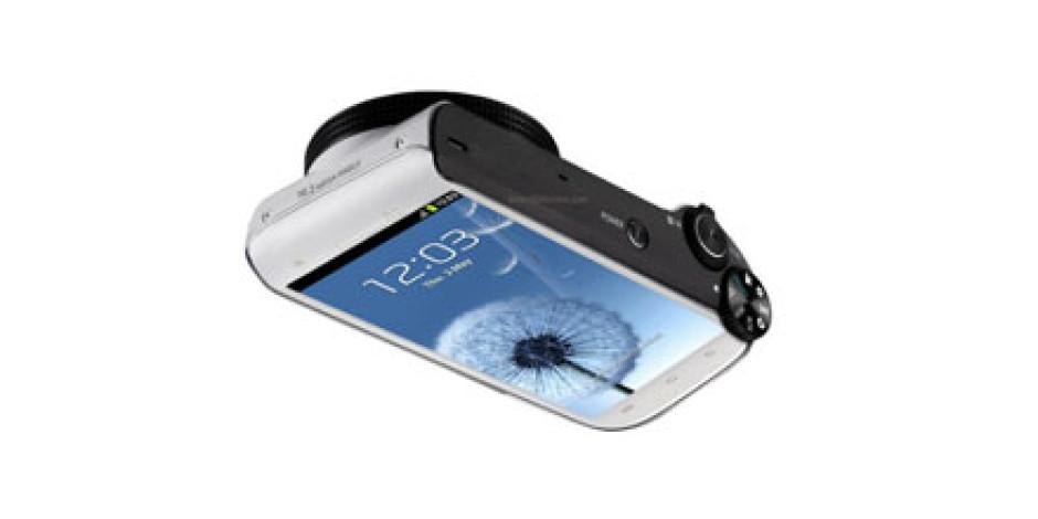 Samsung'tan Android'li Fotoğraf Makinesi: Galaxy S Camera