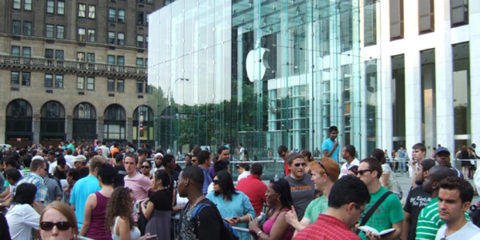 55 Dolara iPhone 5 Sırasına Kaynak Yapılır