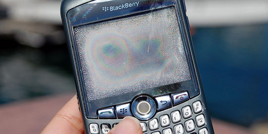 Blackberry Servisleri Avrupa, Orta Doğu ve Afrika'da Çöktü