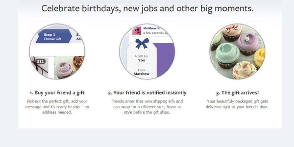 Facebook'un Yeni Sosyal Hediye Platformu: Facebook Gifts